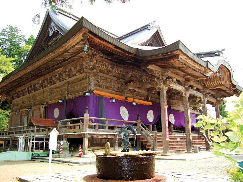 西国二十八番札所 成相山 成相寺